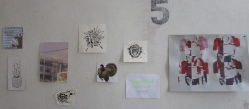 Siebdruckworkshop mit den Künstlerinnen aus dem Hamburger Gängeviertel