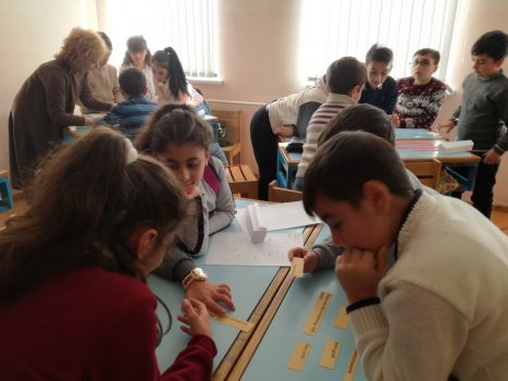 Mobile Kinderuniversität in Gyumri