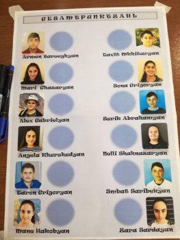 Vorlesewettbewerb der PASCH-Schulen Armeniens